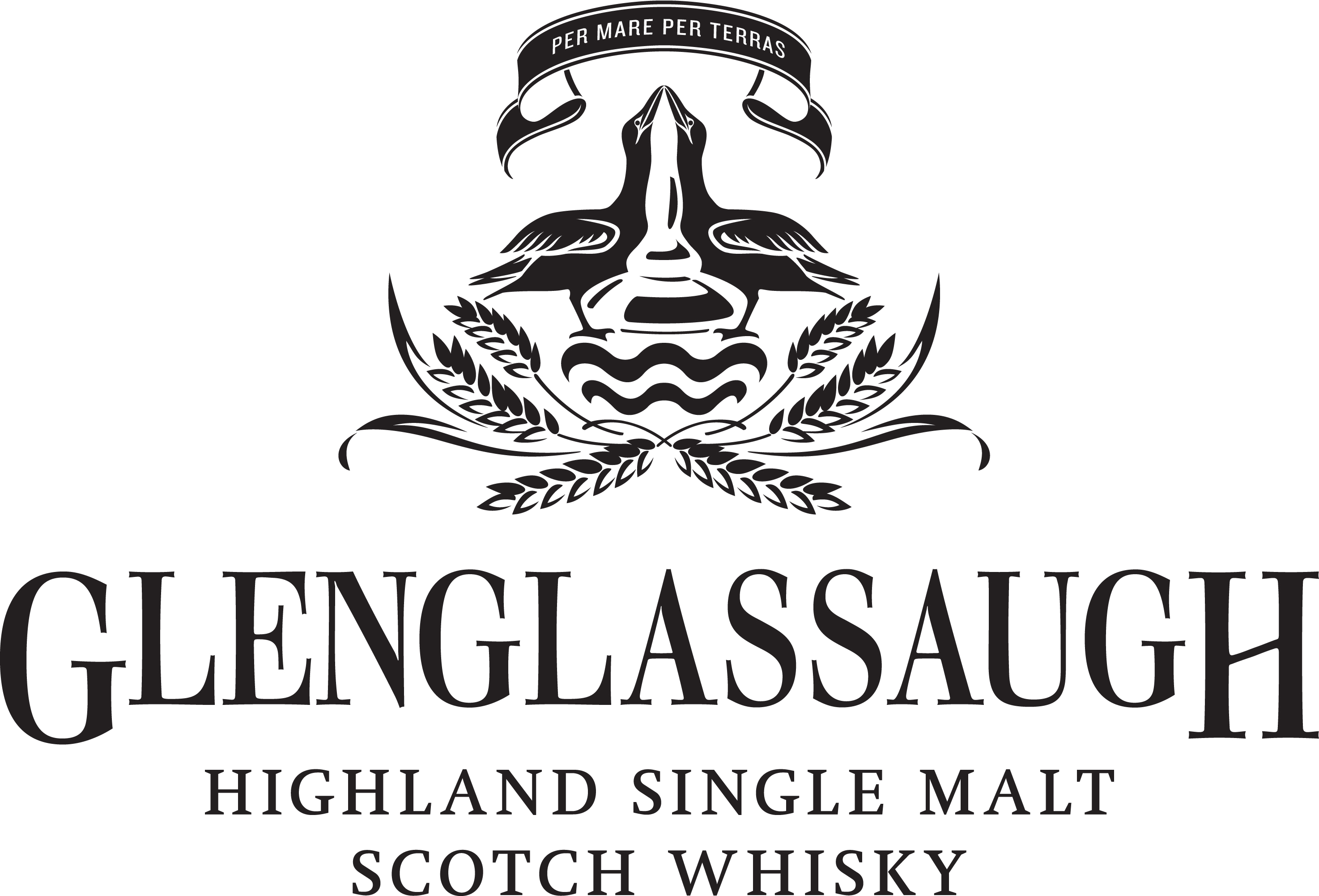 Glenglassaugh Logo Black